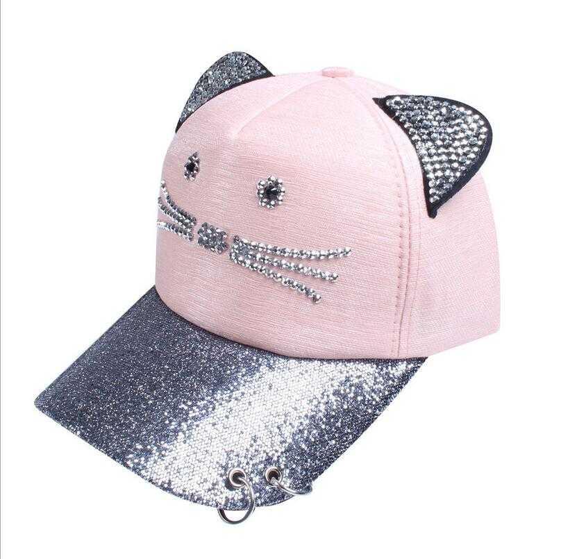 Women's Cat Ears Baseball Cap