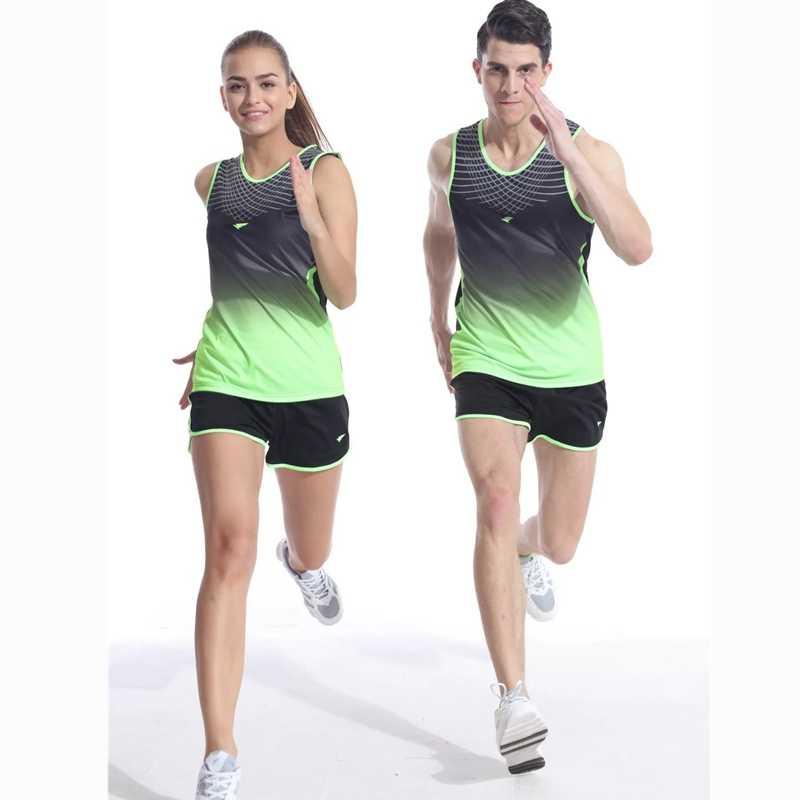 Unisex Running Bamboo Fiber Top and Shorts
