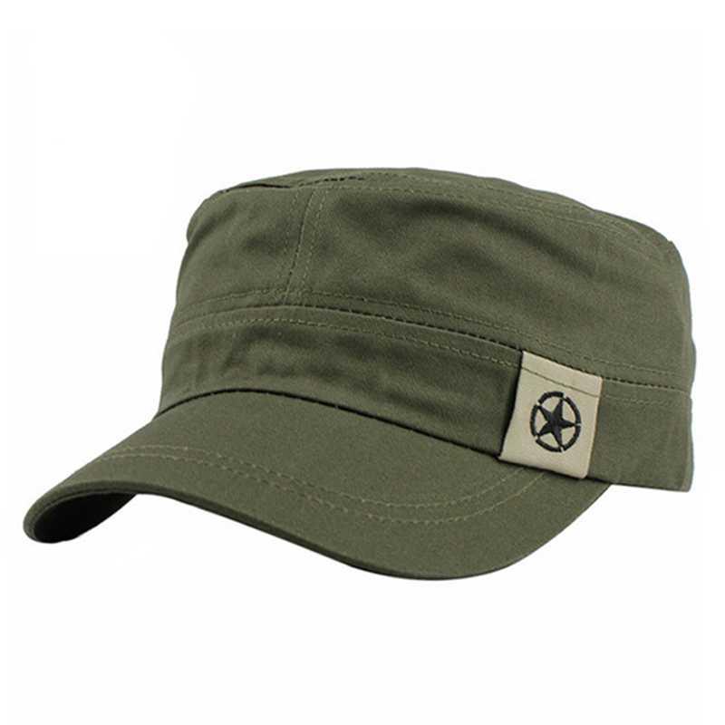 Military Denim Nautical Hat