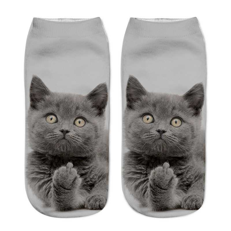 Cats 3D Printed Socks
