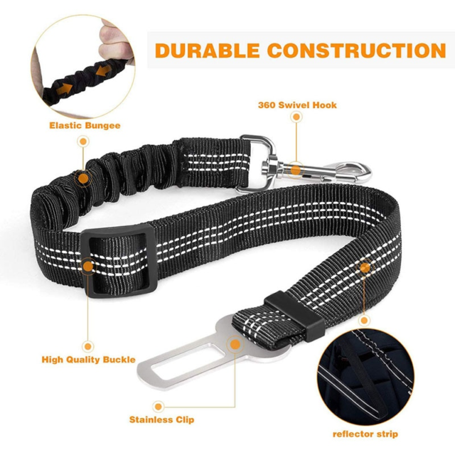 Car Dog Lead Belt