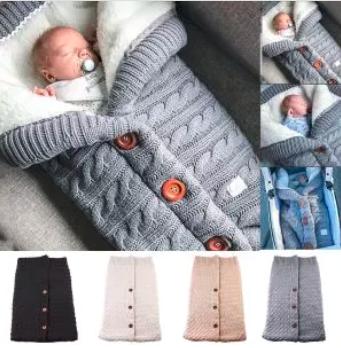 Infant Knit Baby Blanket