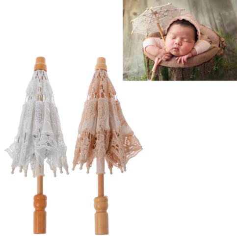 Lace Umbrella Baby Prop