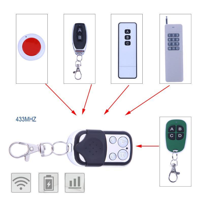 4 Channel Wireless Remote Control Duplicator