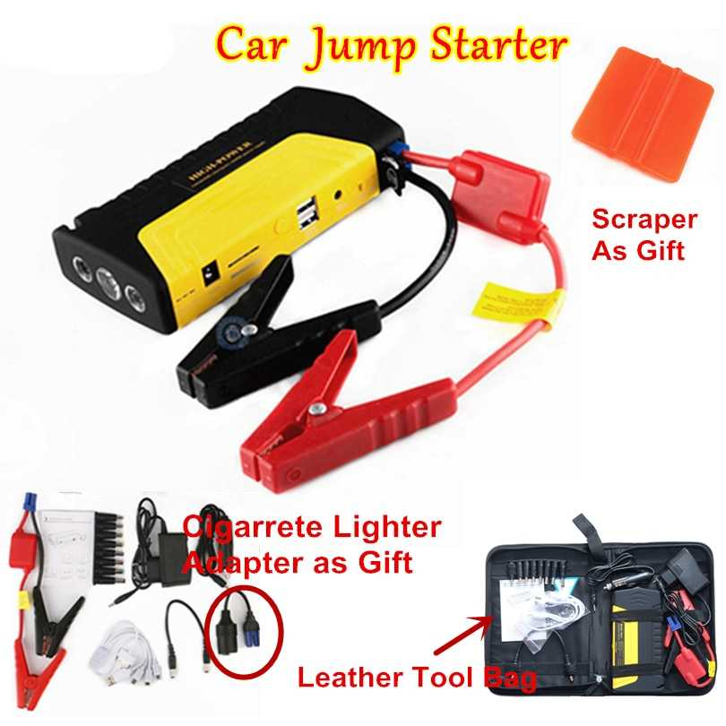Portable Jump Starter And Power Bank