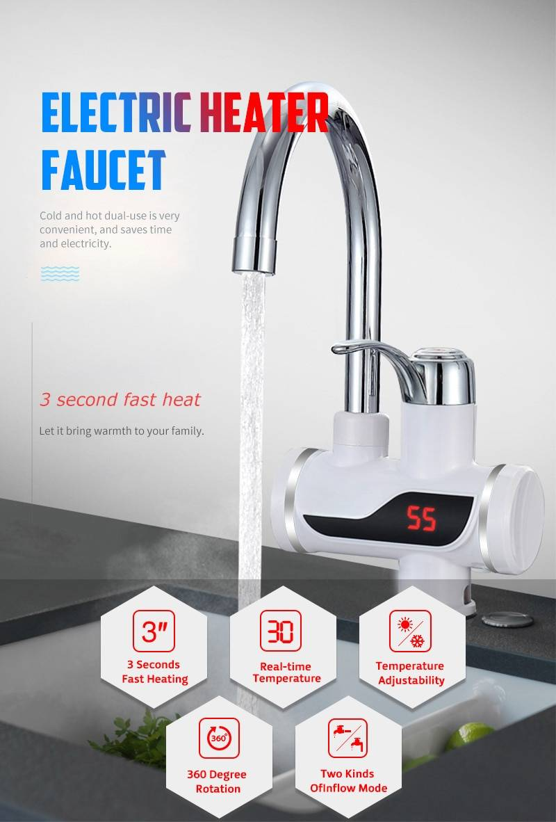 Electric Heater Faucet