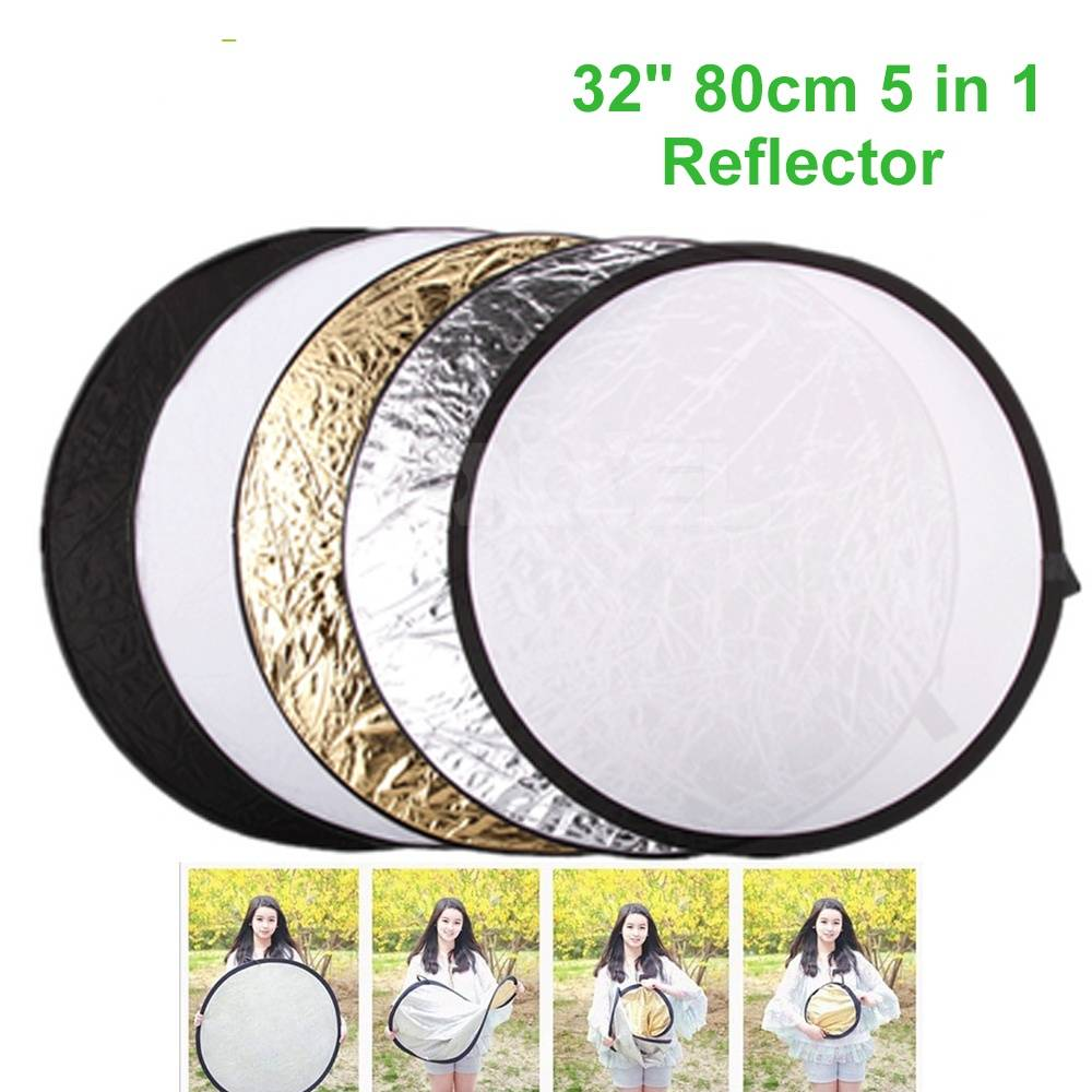 5 in 1 Photography Light Reflector