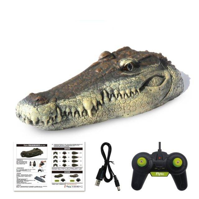 Remote Crocodile Head