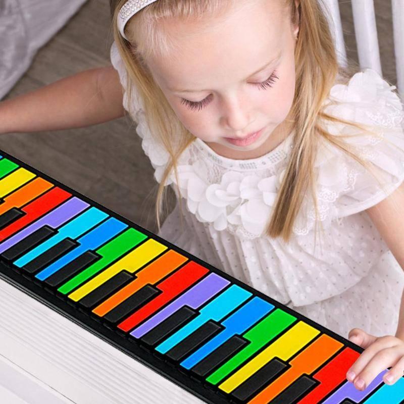 Rainbow Roll Up Piano