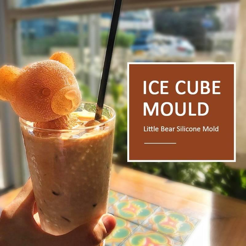 Teddy Bear Ice Mold