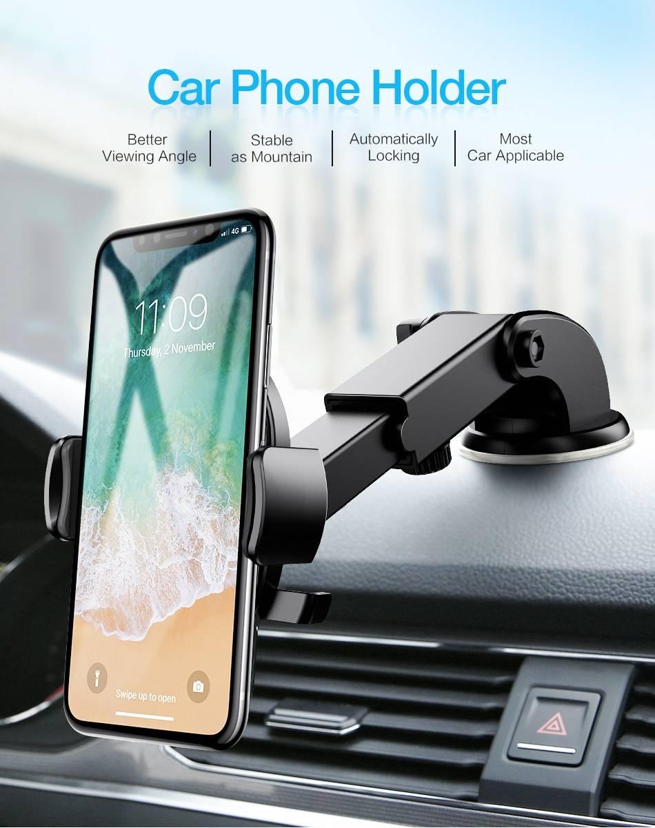 Windshield Car Phone Holder