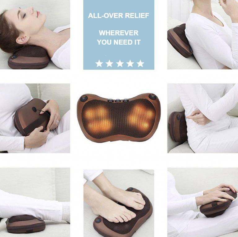Massage Heat Pillow