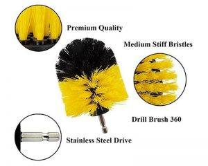 Scrubber Drill Brushes