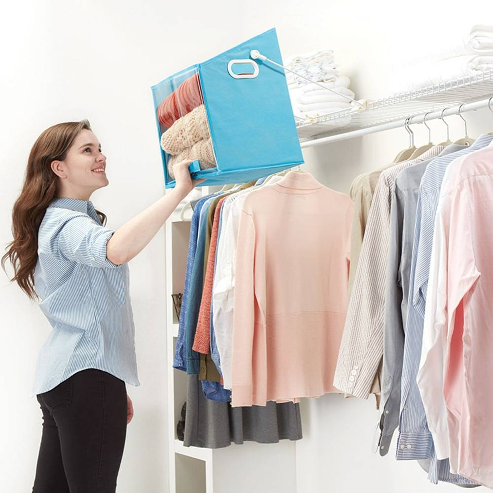 Closet Caddy Pull Down Shelf