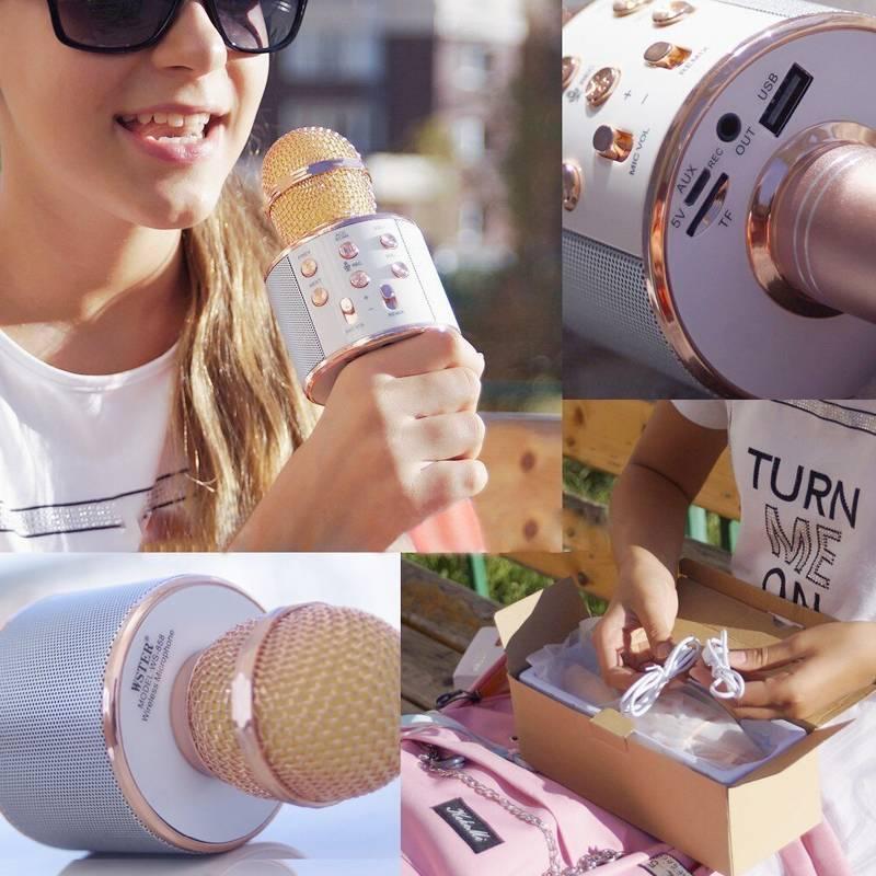 Karaoke Bluetooth Microphone