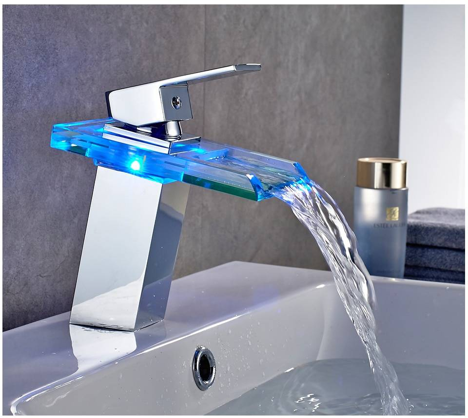LED Waterfall Faucet