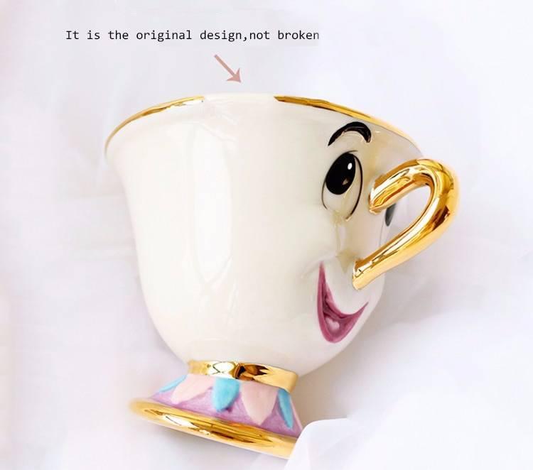 Beauty And The Beast Teapot Set
