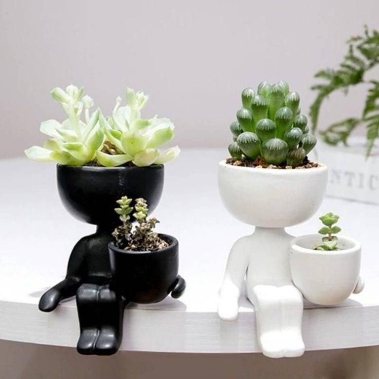 Human Flower Pot