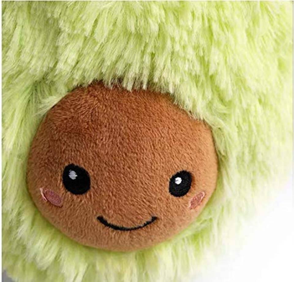 Huggable Plush Avocado Toy