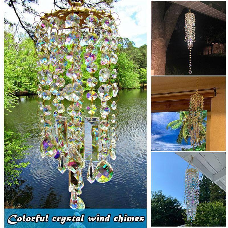 Aurora Crystal Wind Chimes